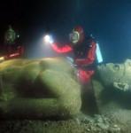 Descubren antigua ciudad sumergida en el mar